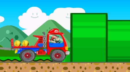 Screenshot - Super Mario Truck